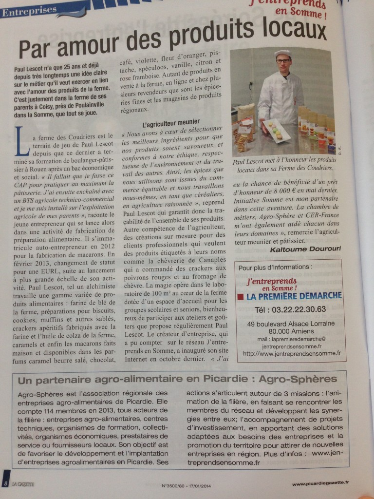 article la gazette picarde